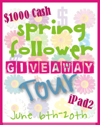 Spring Follower Giveaway Tour