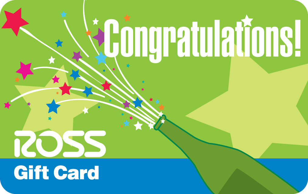 Sample Ross Gift Card Image