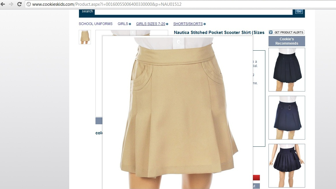 948c31267 Back to School Shopping: Uniform Style at CookiesKids.com ...
