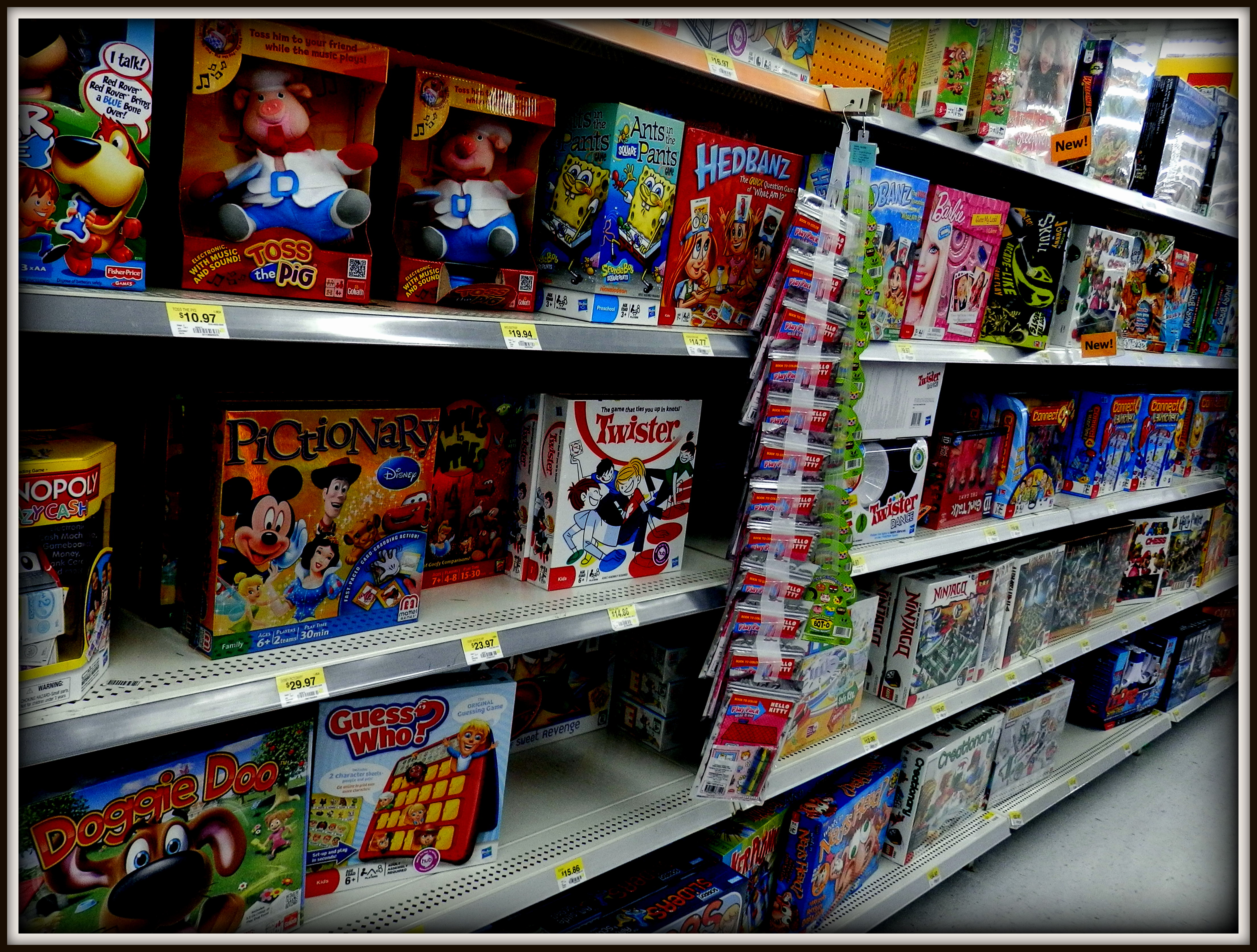 Walmart Toy Aisle Boys : Dip hooray a recipe for family game night with
