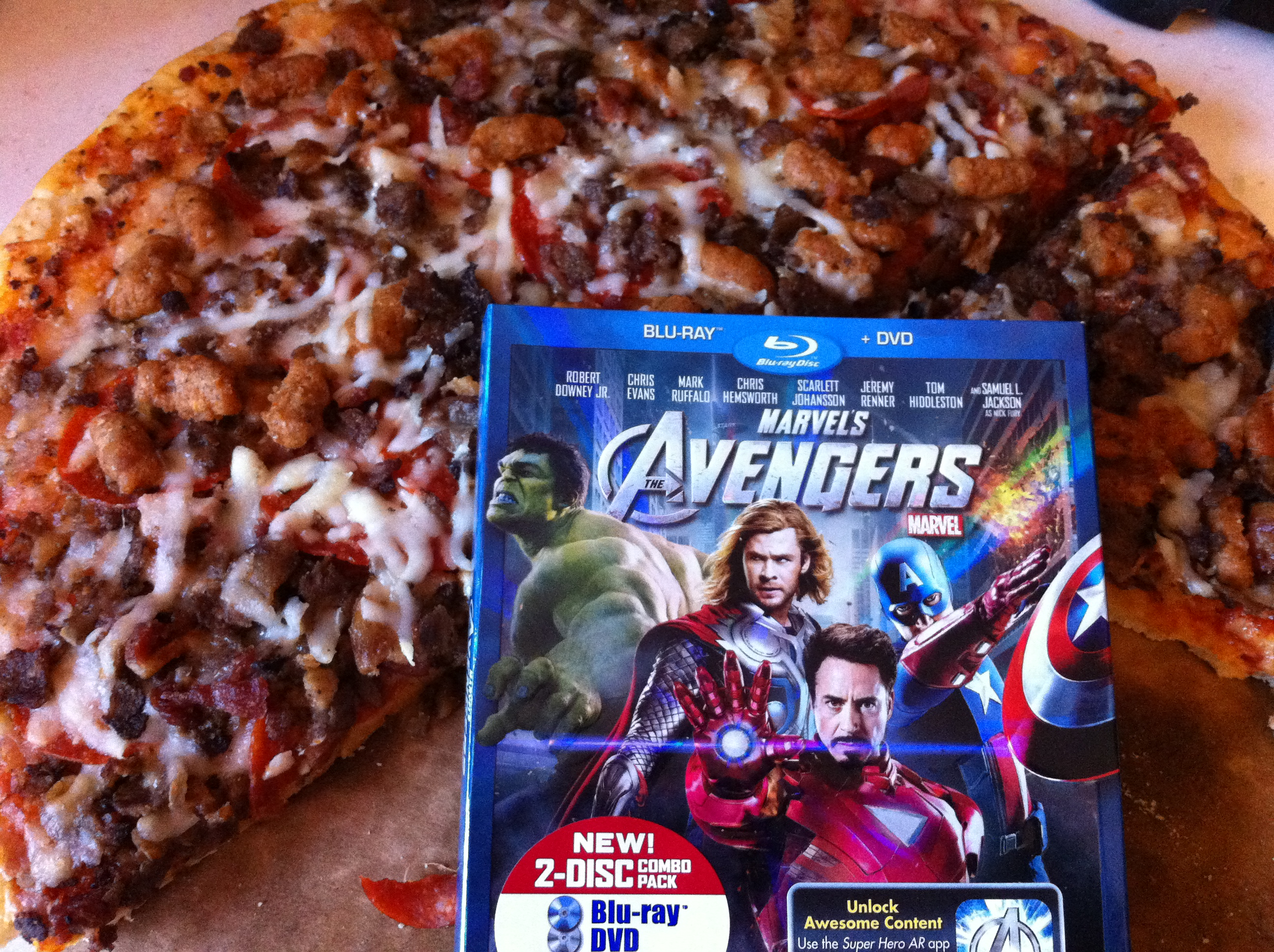 Movie Night Recipe! The Avengers and Walmart Marketside Pizza ...