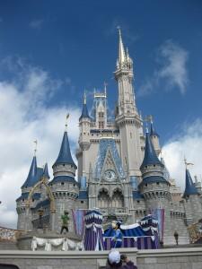 #DisneyPrincesWMT Cinderella Castle