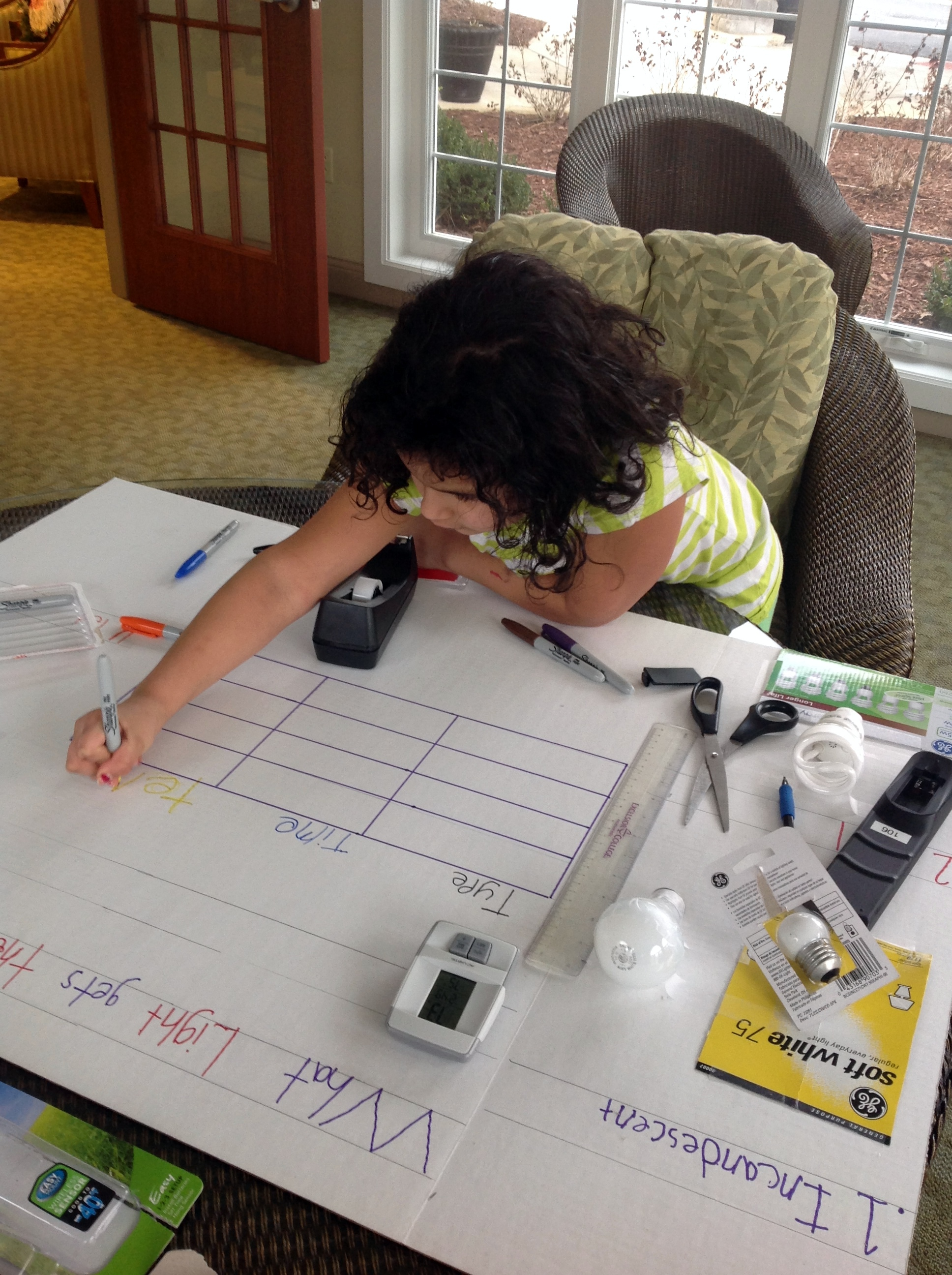 Making story board and chart #CBias #GELighting