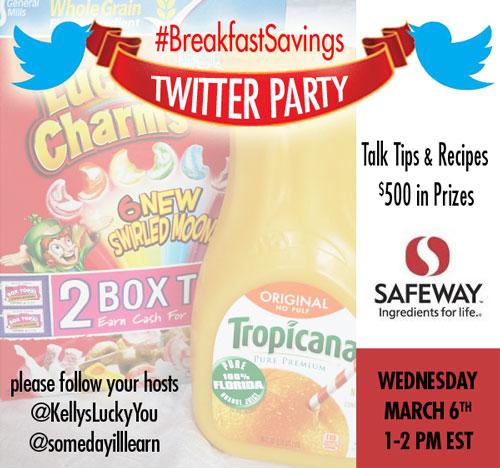 #BreakfastSavings-Twitter-Party