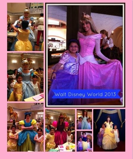 Collage of Princess Pics 8 x 10