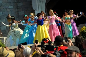 Disney A_15 Merida Coronation All Princesses hyku