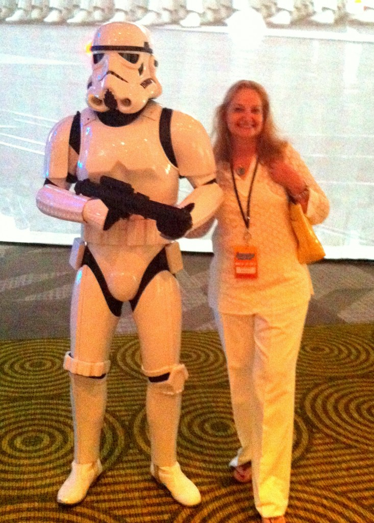 Disney A_8 J and Stormtrooper
