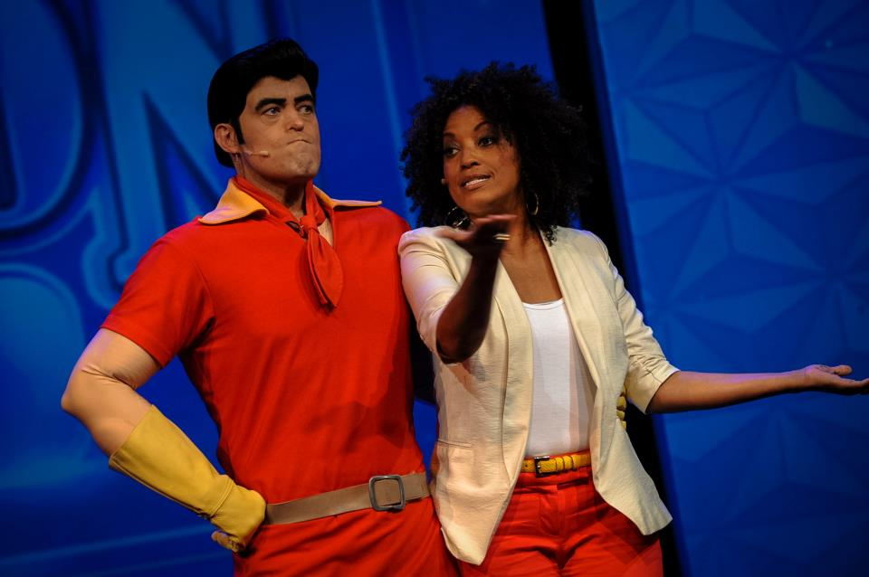#DisneySMMoms Rene and Gaston