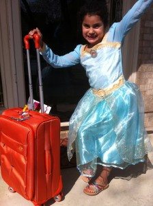 My little Merida is ready to #PackMoreFun!