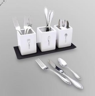 flatware by sandra lee at kmart & You Could Win a $100 Kmart Gift Card at ShopYourWay! - Kelly\u0027s Lucky You