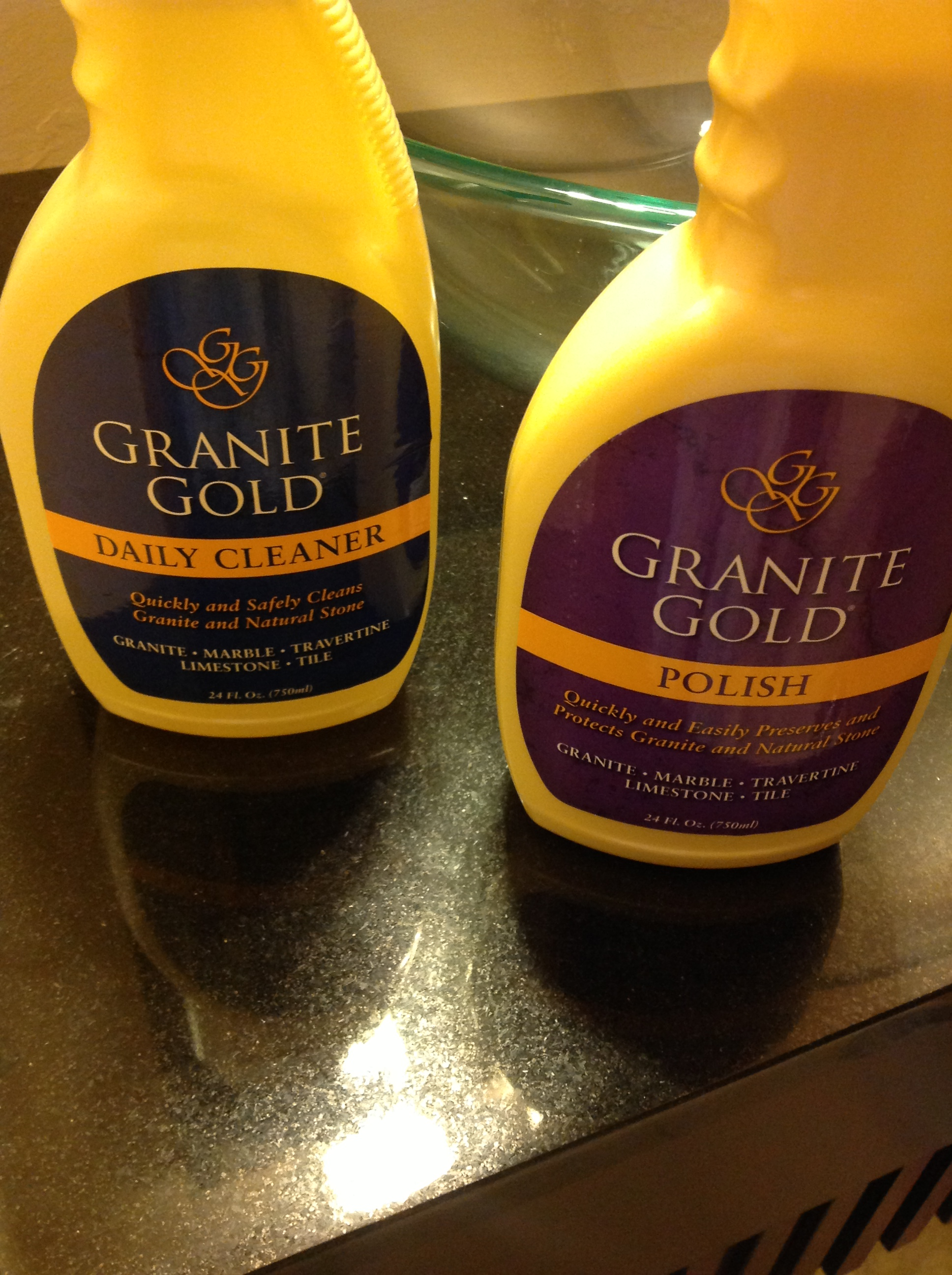 Giveaway Finding A Great Cleaner For Your Granite Is Like Finding Gold Granite Gold Us And Canada Ends 7 9 Kelly S Lucky You