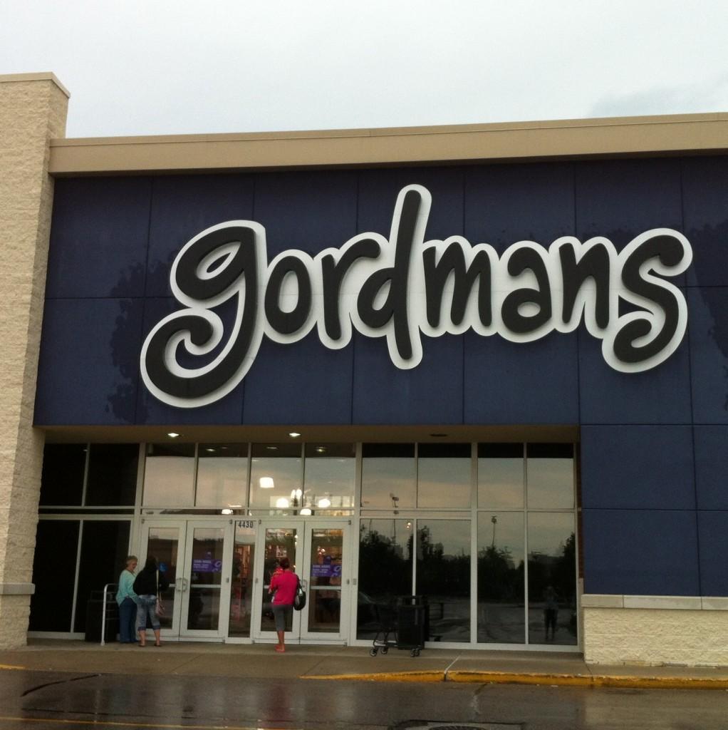 A Outside Gordmans