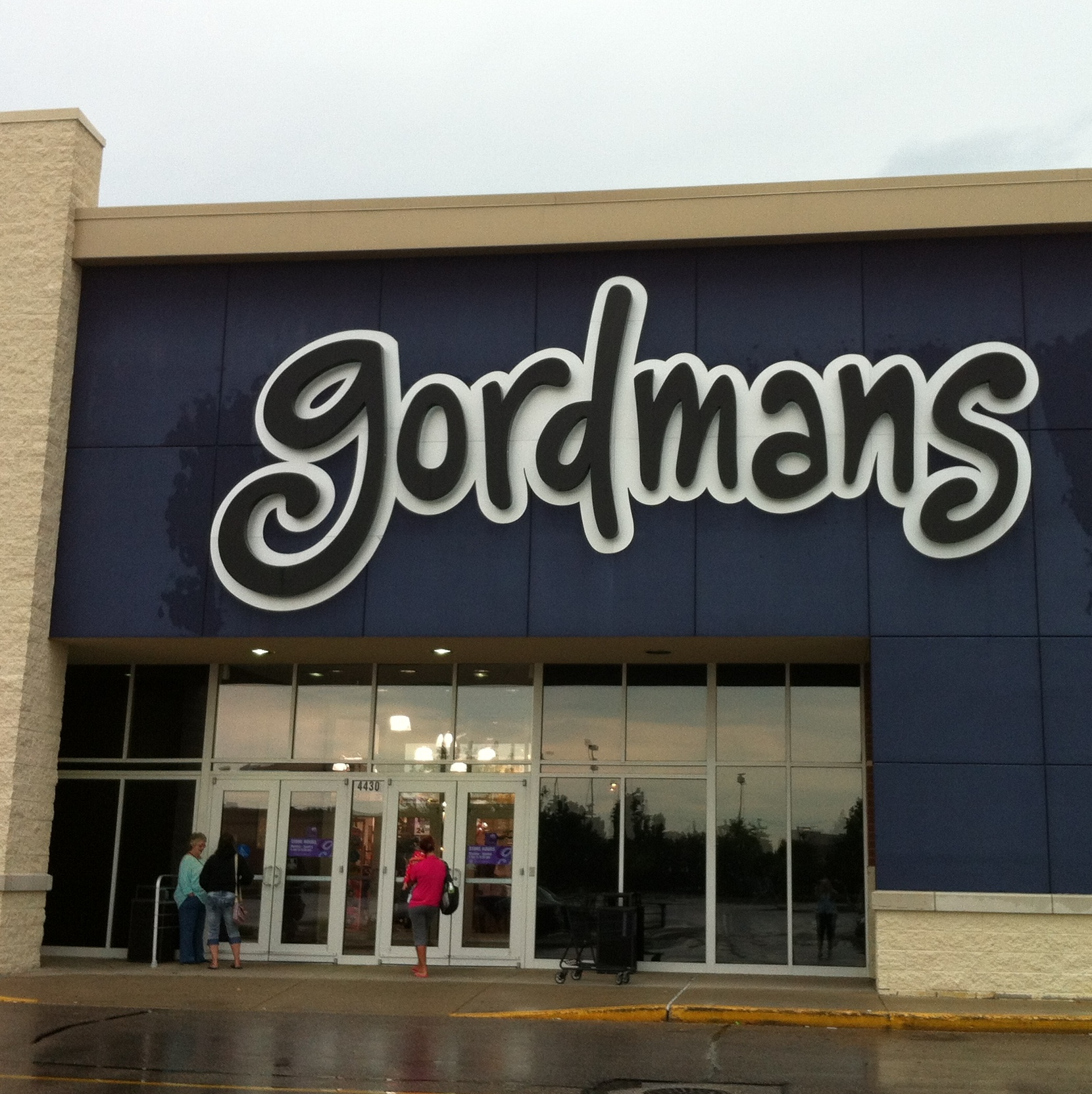 Gordmans clothing store