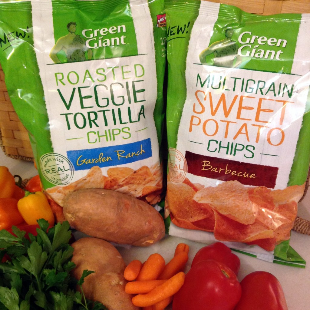 Green Giant Veggie Chips with Veggies
