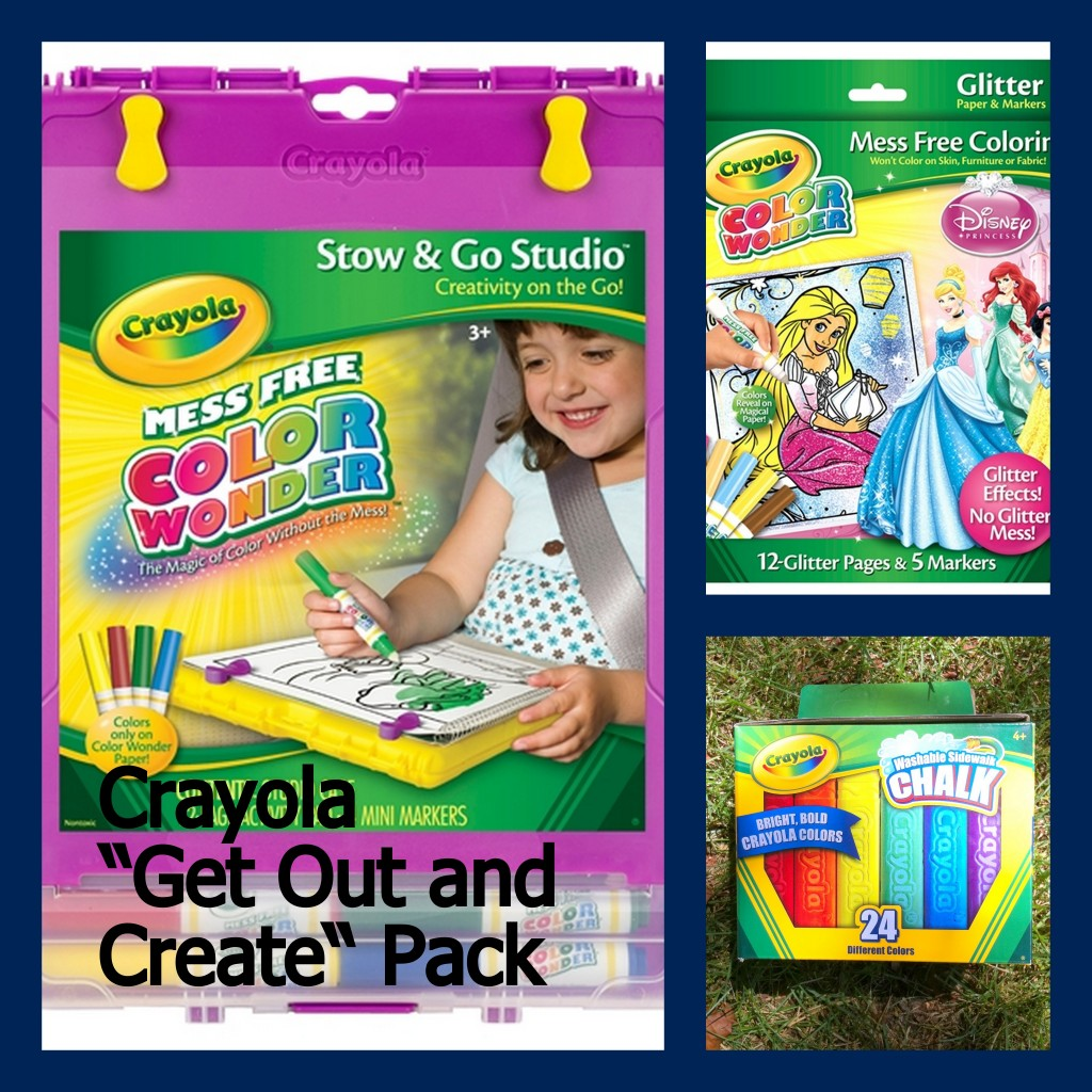 Giveaway crayola get out and create gift pack ends 8 Crayola fashion design studio reviews