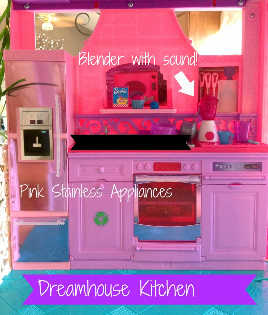 Barbie Dreamhouse Kitchen with Text