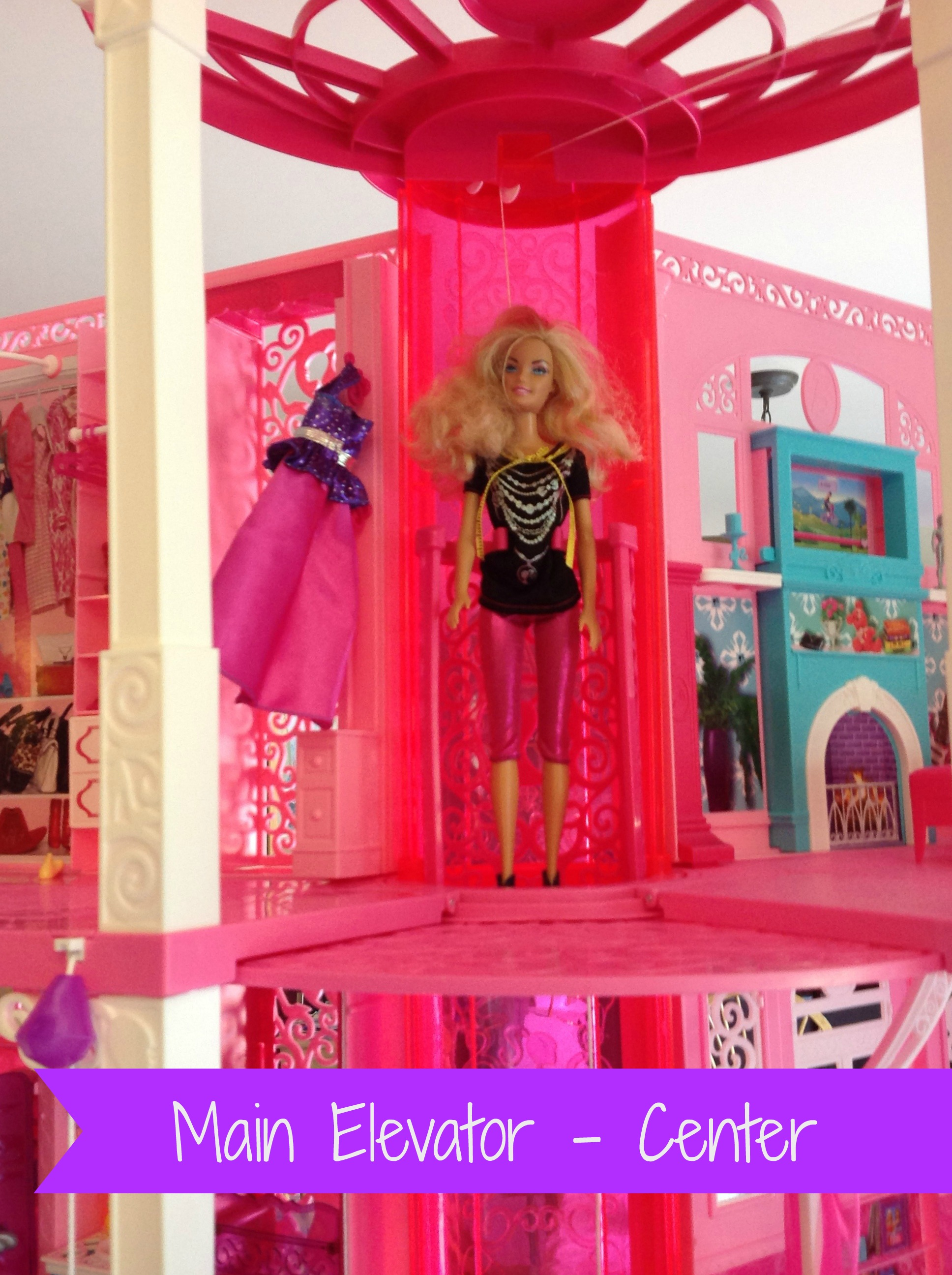Barbie Dreamhouse In Elevator With Text