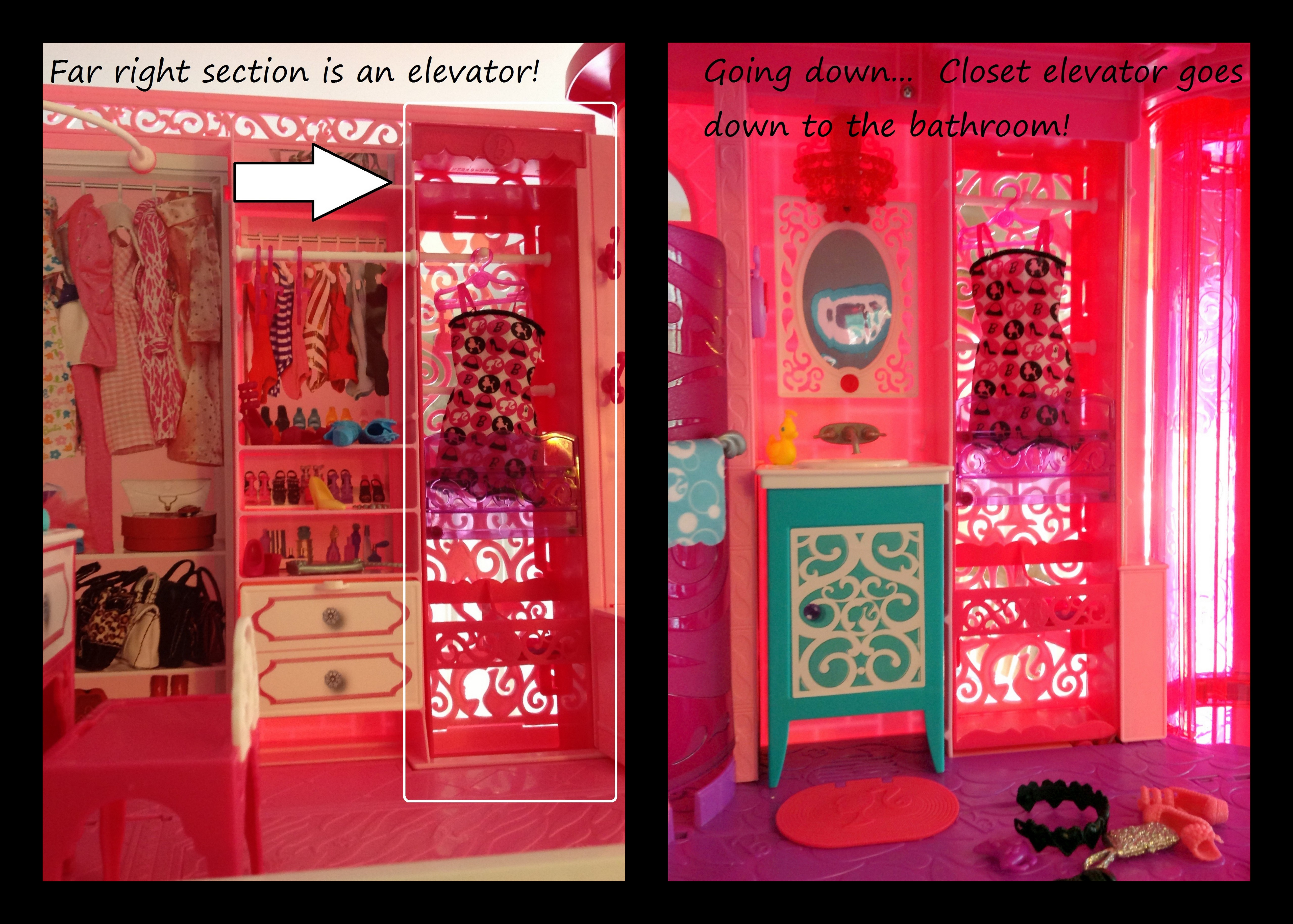 Revealing The 2013 Barbie Dream House 1960 S Versus 2013