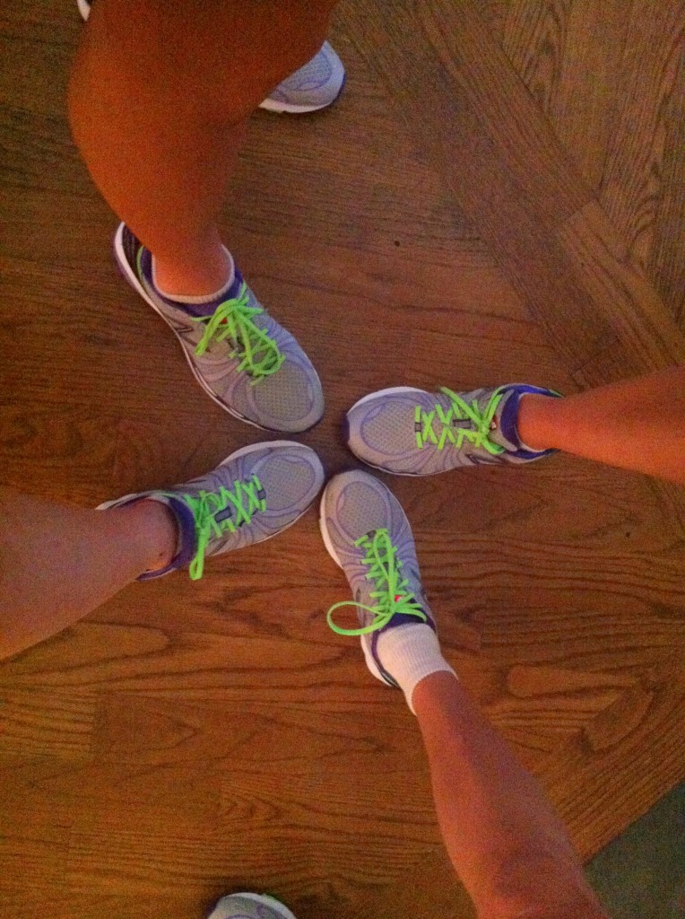 Blog Fun Run foot shot