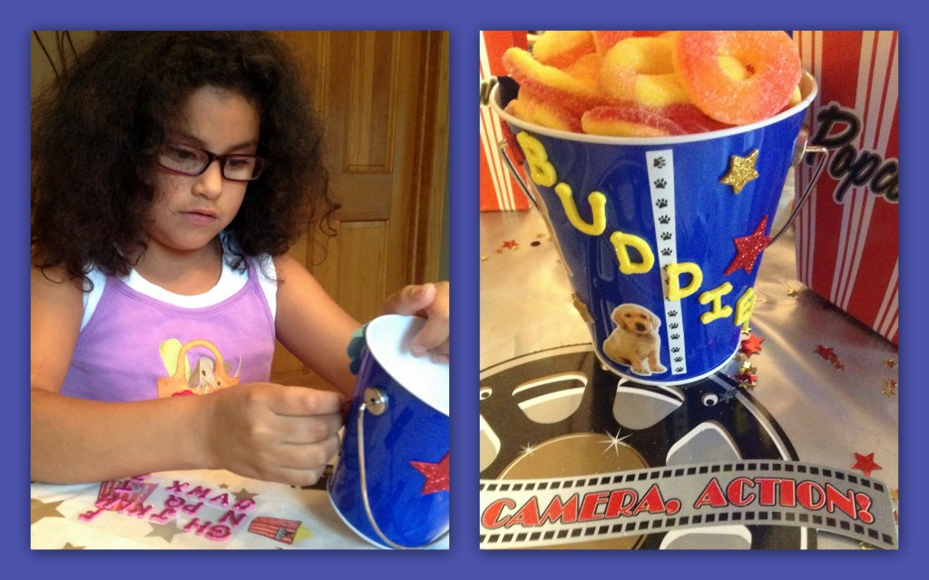 #Tyson2Nite Popcorn Chicken Decorating Buckets Collage #shop