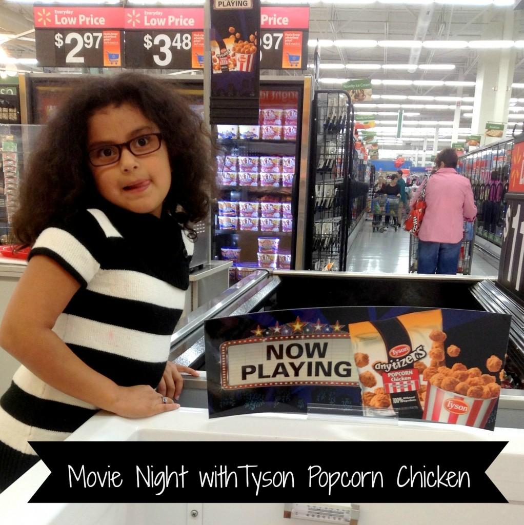 #Tyson2Nite Popcorn Chicken In Store Demo with text #shop