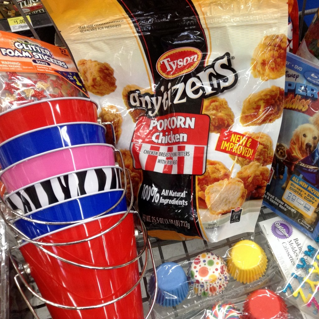 #Tyson2Nite Popcorn Chicken Movie Night Buckets #shop