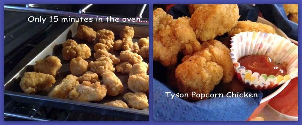 #Tyson2Nite Popcorn Chicken Oven Collage #shop