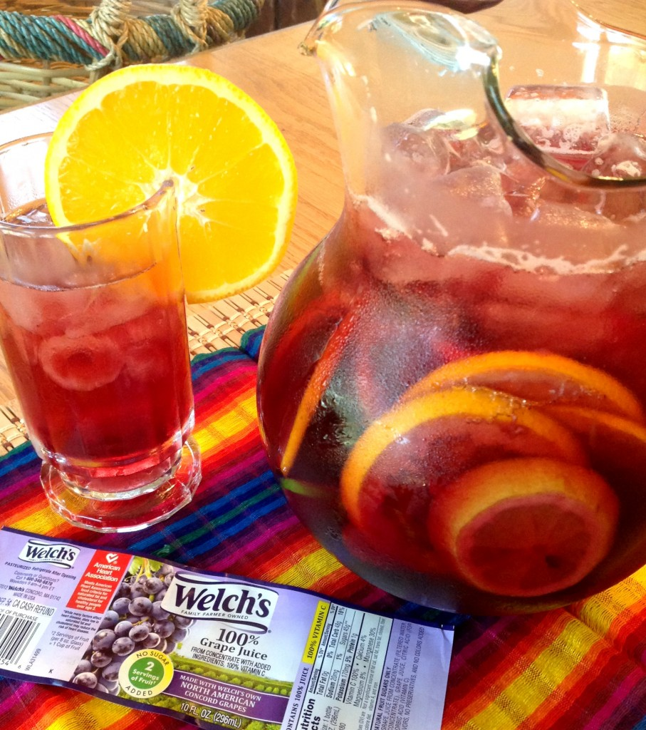 Welchs Grape Juice Sangria