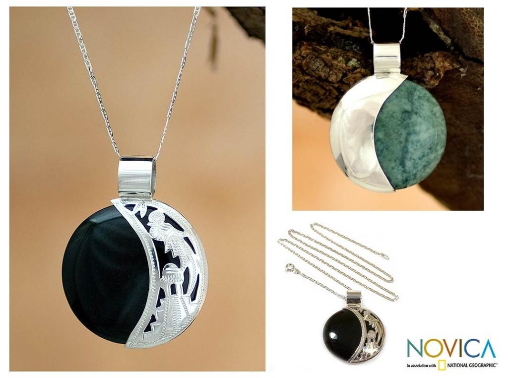 quetzal necklace from novica