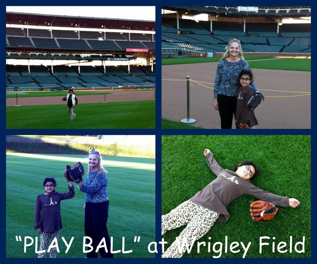 #PricelessChicago #MC Play Ball at Wrigley Field