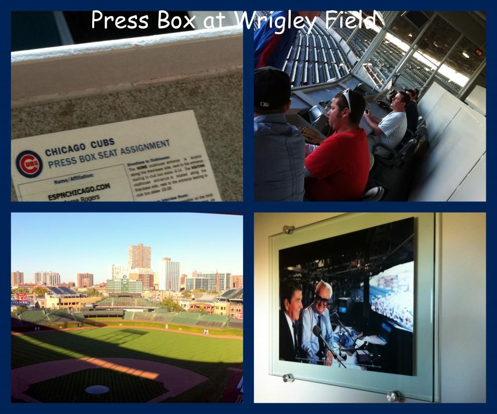 #PricelessChicago #MC Press Box Collage