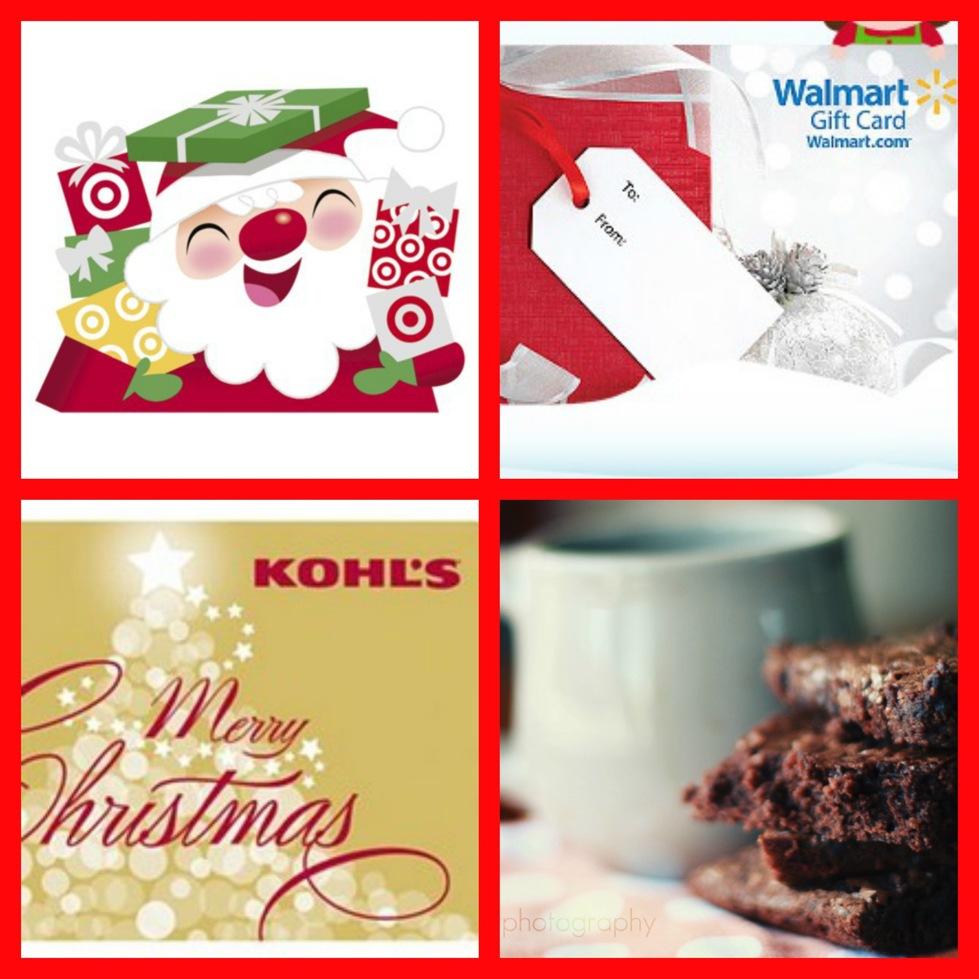 Giveaway: $25 Walmart, Target, Or Kohl's Gift Card In The