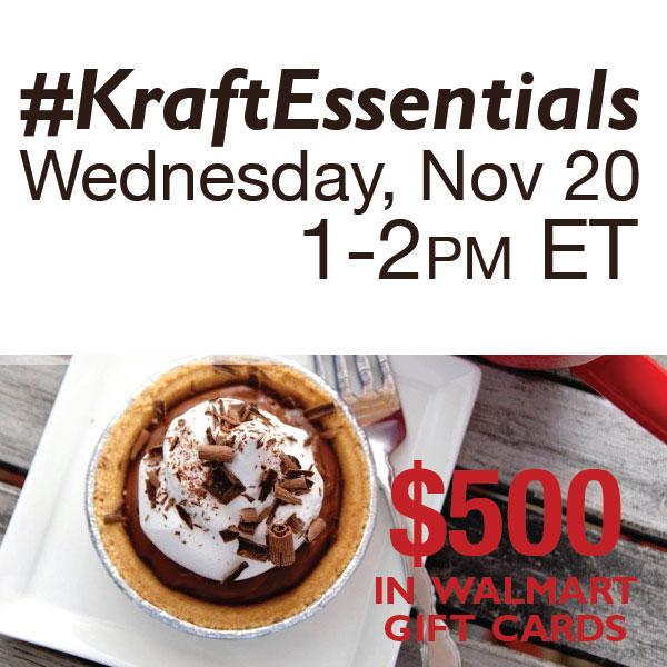 #KraftEssentials-Twitter-Party-11-20
