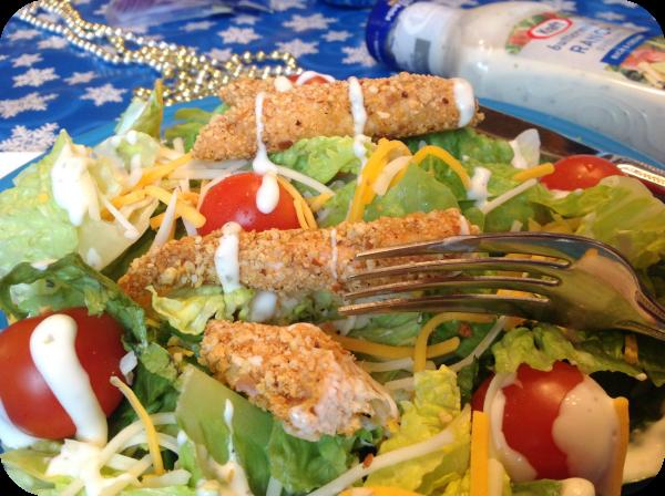 Sm Shake 'n Bake Chicken Fork #KraftEssentails #cbias #shop