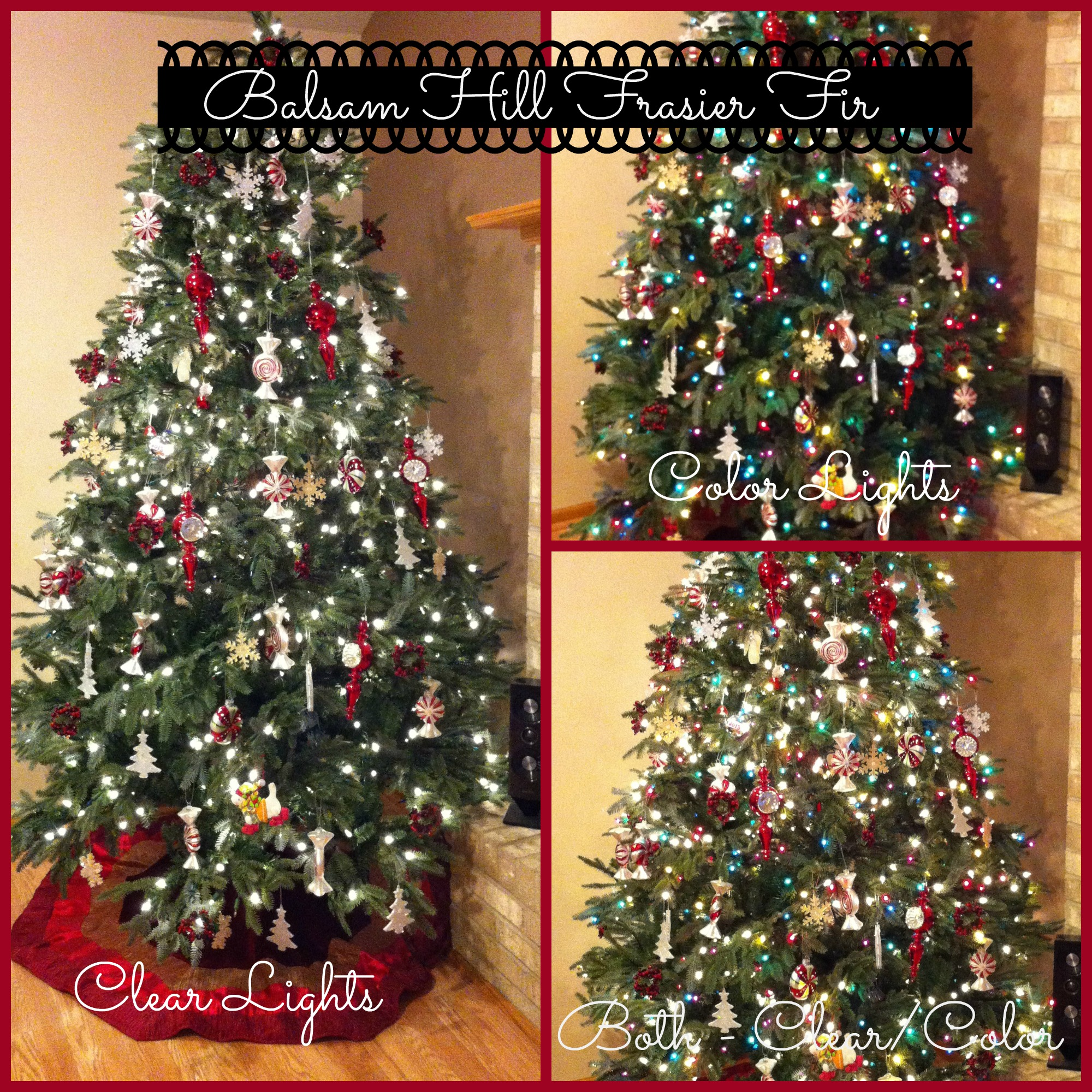 Balsam Hill Christmas Tree Co Reviews.Color Vs Clear The Great Christmas Tree Light Debate