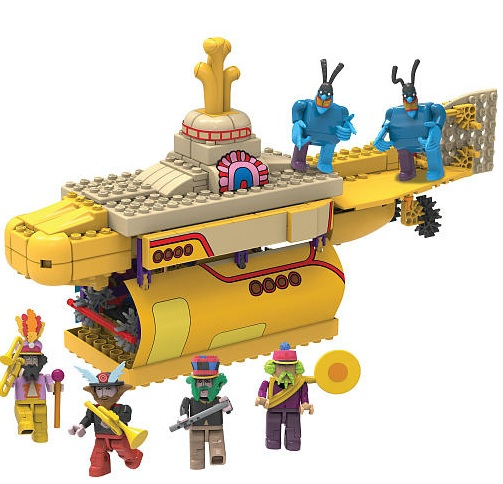 KNEX Yellow Submarine 3
