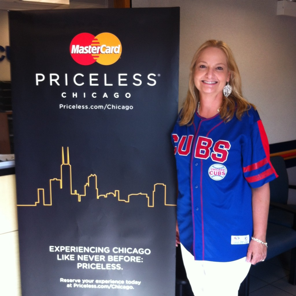 Me and Priceless Chicago Sign