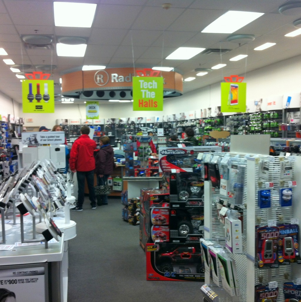 Radio Shack Indoors