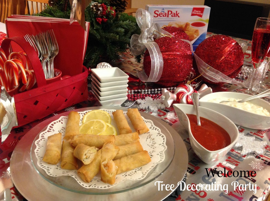 SeaPak-Holiday-Appetizers-#PaktheParty-#cbias-Buffet-Tablescape-Welcome