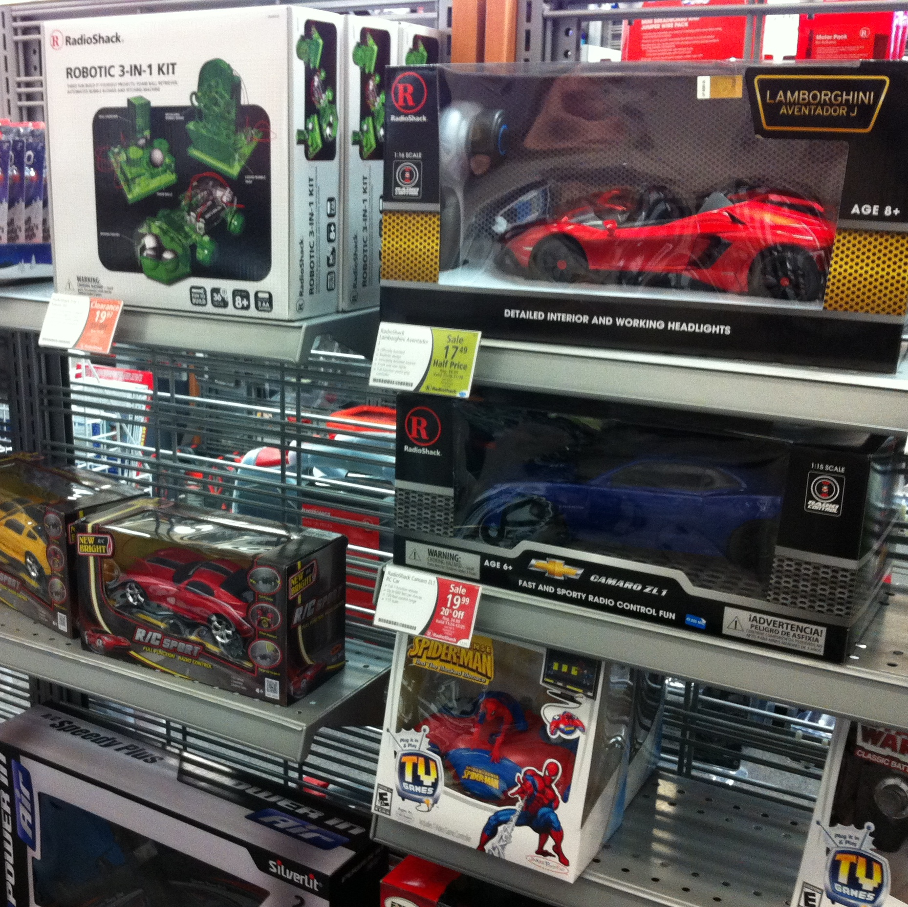Radio Shack Toys For Boys : Shopping for the whole family at radioshack this holiday