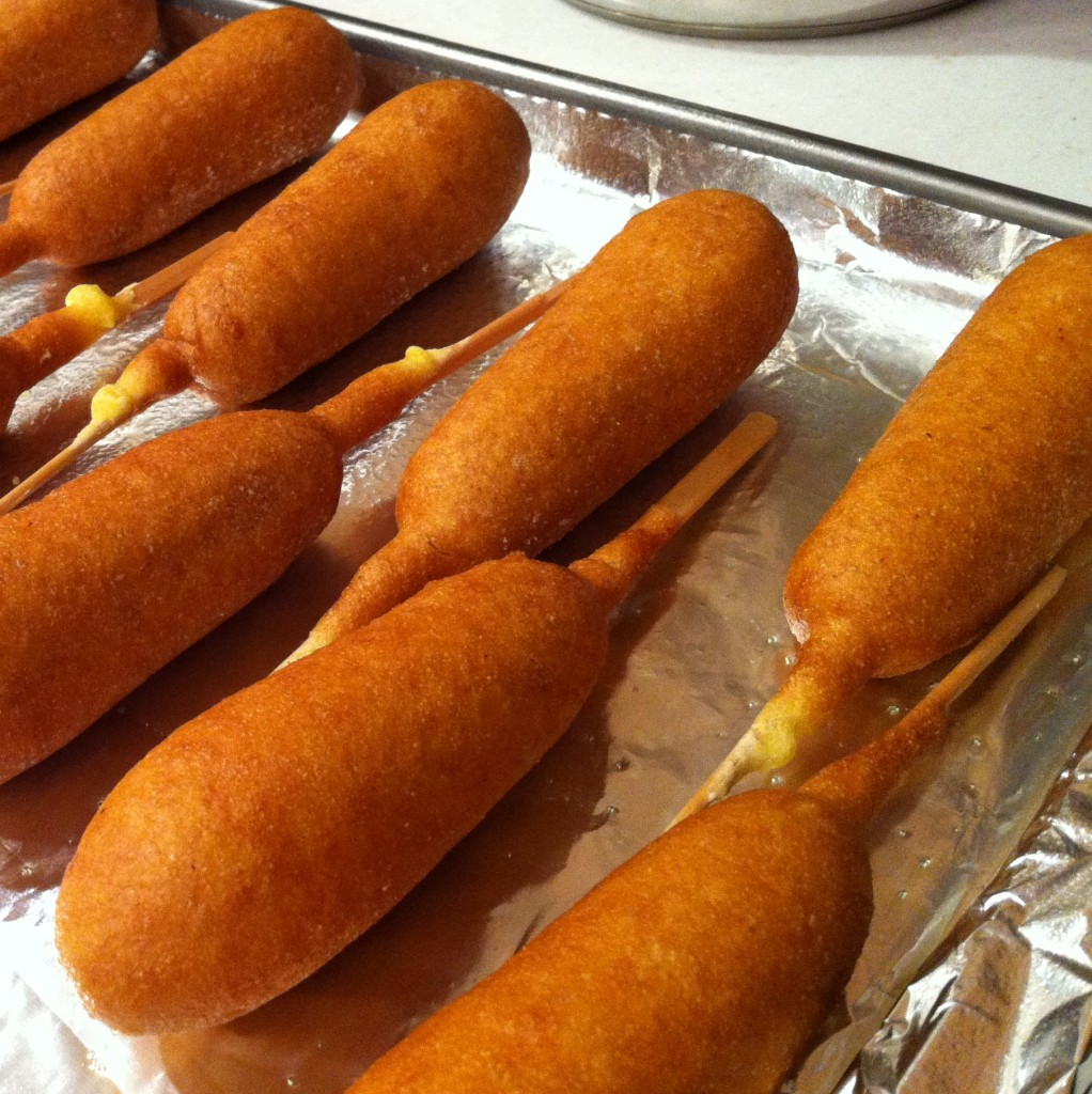 #ad-#GetCorny-Country-Ribbon-Corn-Dogs-#cbias-Cookie-Sheet