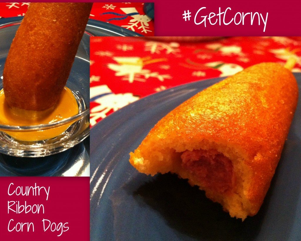 #cbias #ad #GetCorny Country Ribbon Corn Dogs Collage
