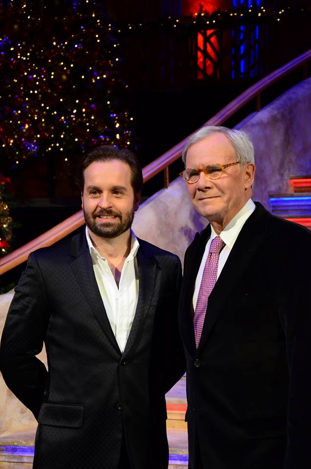home for the holidays Alfie Boe and Tom Brokaw