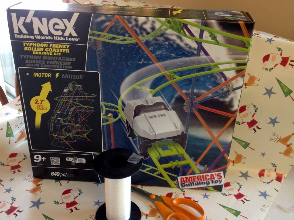 knex roller coaster wrapping