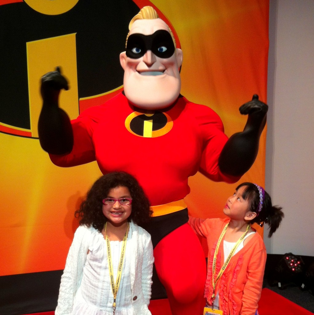 Disney A_5 With Mr Incredible B Look