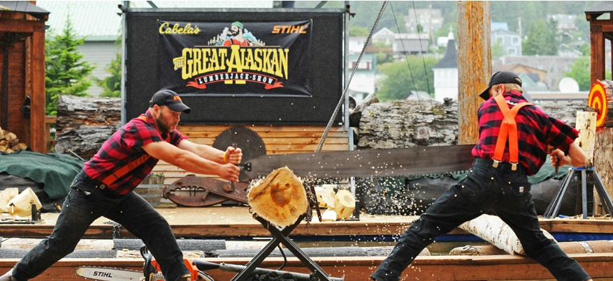 Disney Great Alaskan Lumberjack Show