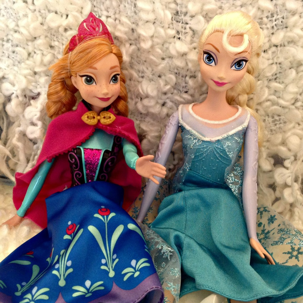 #FROZENFun FROZEN Movie Anna and Elsa Sparkle Dolls #cbias #shop