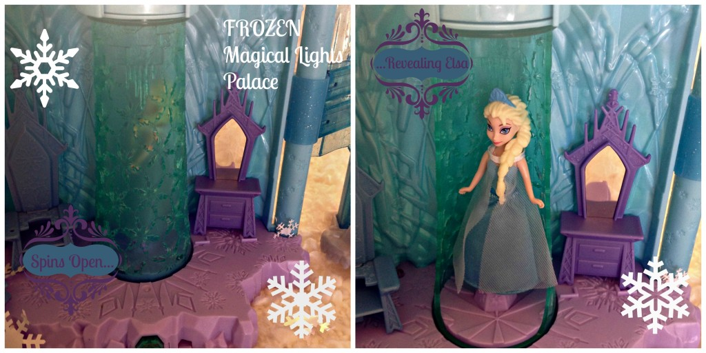 #FROZENFun Magical Lights Palace Toy Spins #cbias #shop