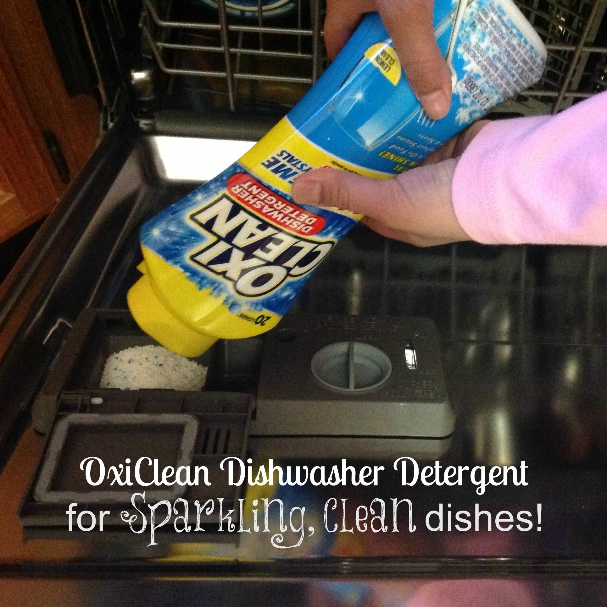 how to add phosphates to dishwasher detergent