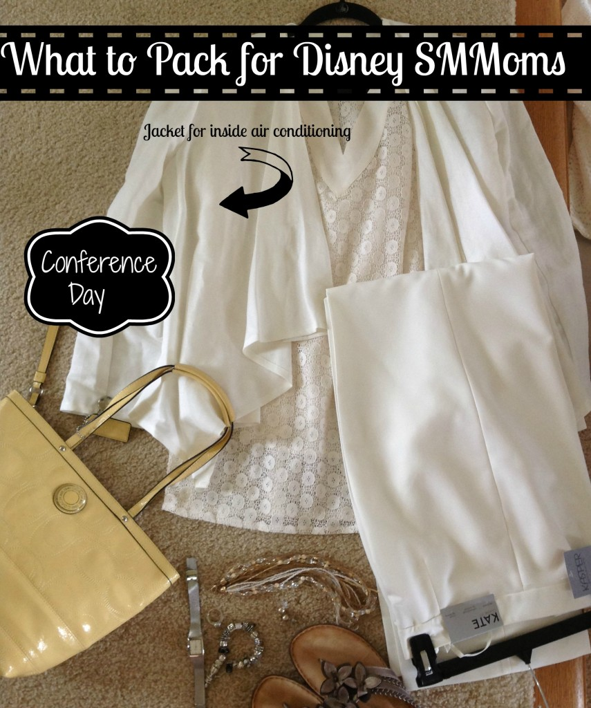 What to Pack for Disney SMMoms Conference Day